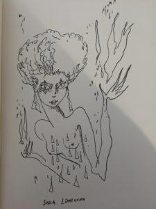 """Dessin du livre """"Le dernier juif d'Europe"""" de Joann Sfar représentant Sara Lamterme, un des personnages du roman. Critique littéraire"""